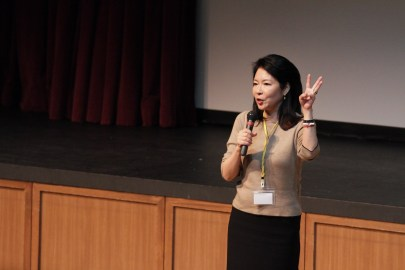 Kumi Sato, President and CEO of COSMO and Class of 1977 Alumna