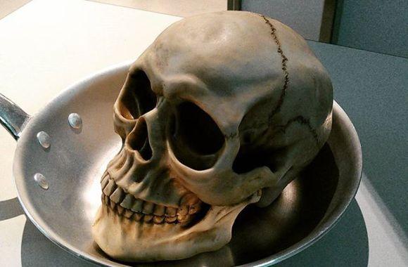モーニング#gabor #gaboratory #skull #骸骨 #髑髏