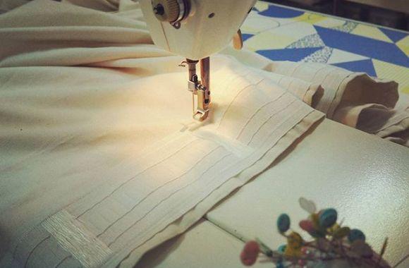 ひたすら縫い物をする日。カーテン飽きる。。