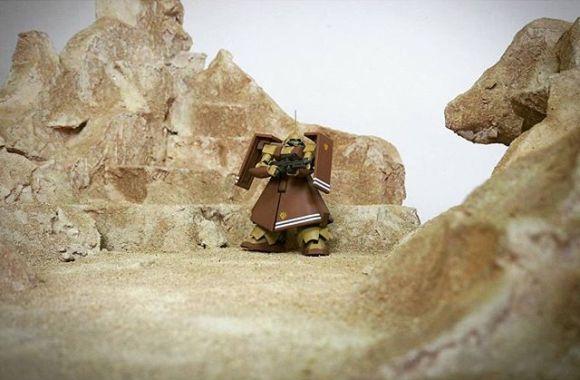 HG 1/144 RMS-108マラサイ #miniature #handmade #ミニチュア #figure #クラフト #ジオラマ #diorama #scalemodel #toys #model #gundam #modeling #toyslagram #scalemodels #art