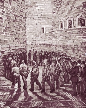 Prisoners' Round, Van Gogh