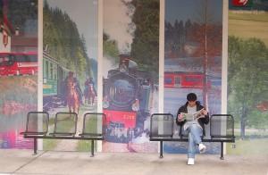 "Waiting for ""le Train du Jura"", Tramelan, 2008. Photo: SnapDoc/flickr"