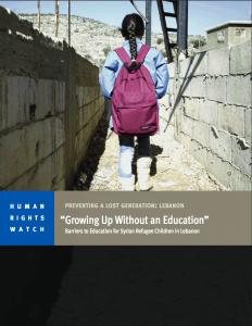 HRW_GrowingUpWithoutEducation