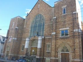 This was the church of my parochial school... a beautiful sanctuary in Lawrence, Massachusetts..now used for something else.