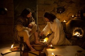 Jesus foot washing
