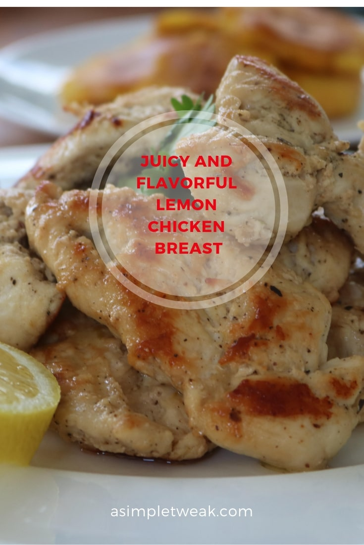 This Juicy and flavorful Lemon Chicken Breast Recipe is a promising choice for a healthy and filling lunch/dinner.  This low carb chicken recipe comes together in just 30 minutes!