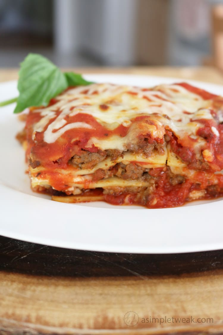 The Best Quick and Easy Lasagna Recipe