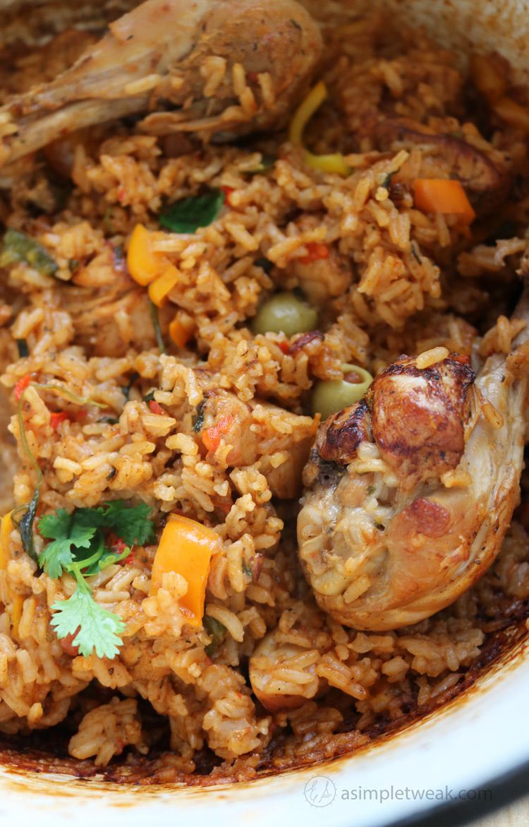 Arroz con Pollo One-pot Meal