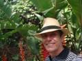Eu, com o chapéu do meu pai