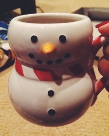 My aunt has the cutest mugs!