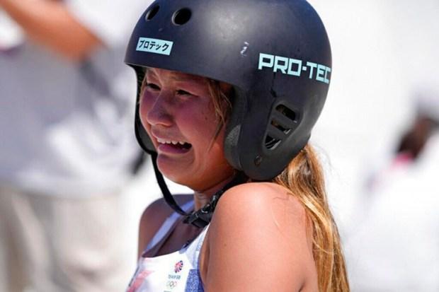 Trinaestogodišnja Skaj Braun iz Velike Britanije uzela je bronzu i zaplakala od sreće, Foto: Tanjug/AP
