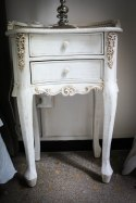 ... at the classic french bed side table which I like a lot.