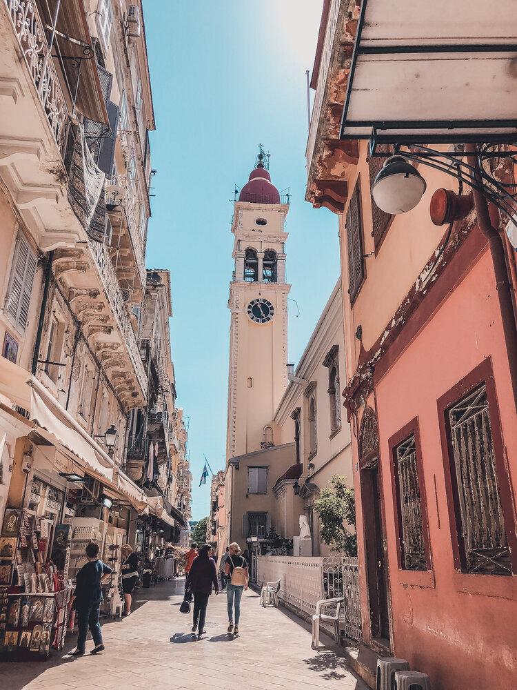 Old Town Corfu Shopping