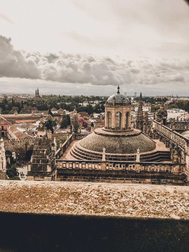 Best Places in Spain to Travel Alone   Views from the famous cathedral