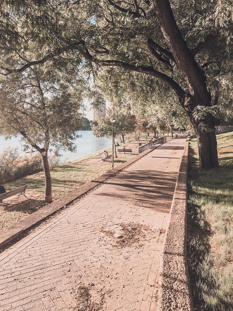 River in Seville