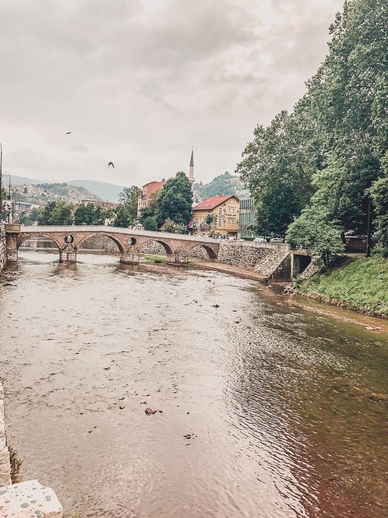 Are the Balkans Safe For Women | Sarajevo Bridge