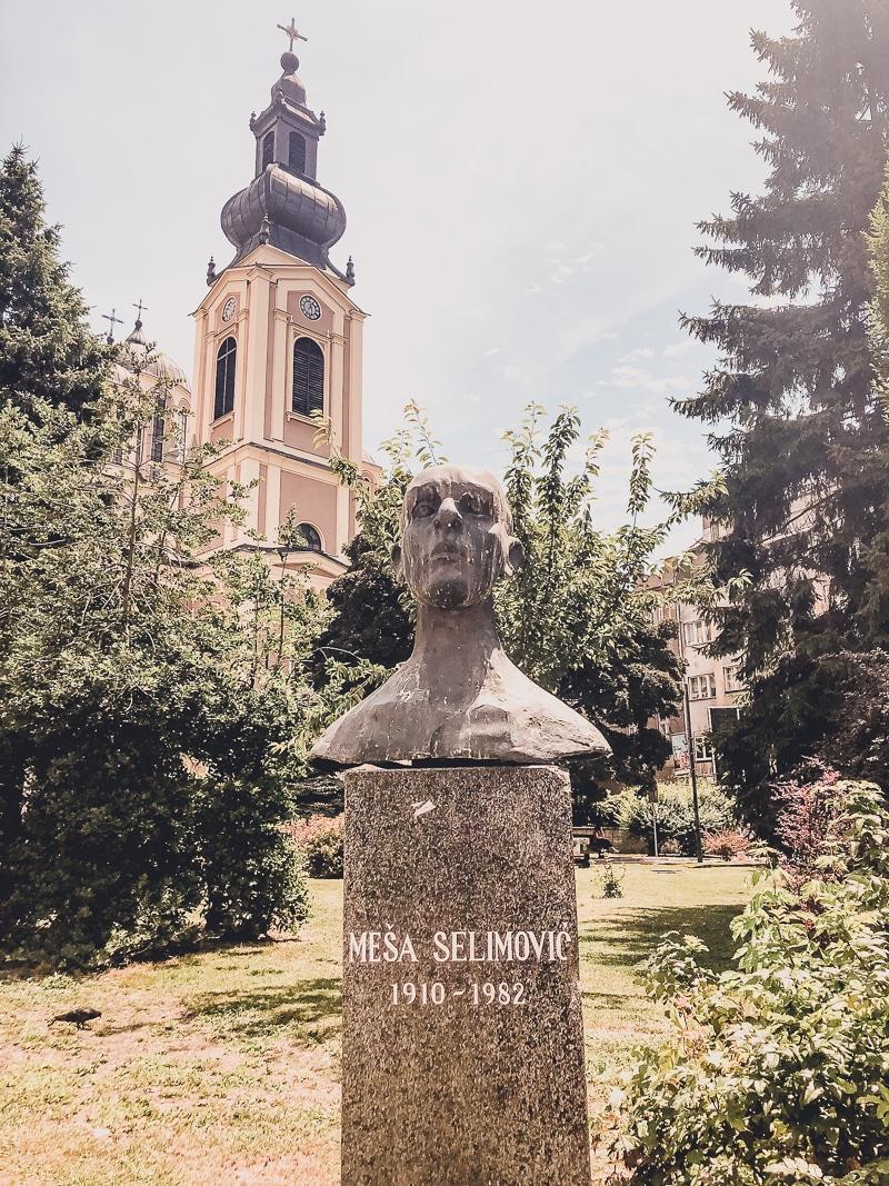 Bosnia and Herzegovina - Are the Balkans Safe For Women? | Sarajevo Statues