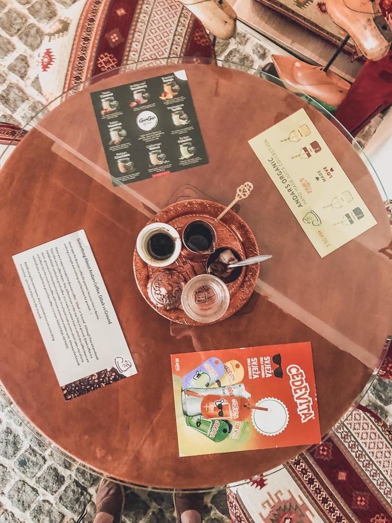 Turkish Coffee in Sarajevo