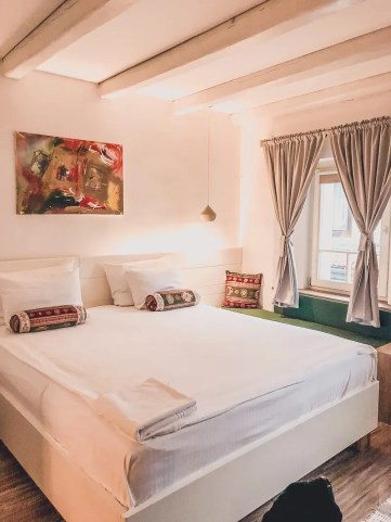 Bosnia and Herzegovina - Are the Balkans Safe For Women? | Hotel Old Sarajevo Room