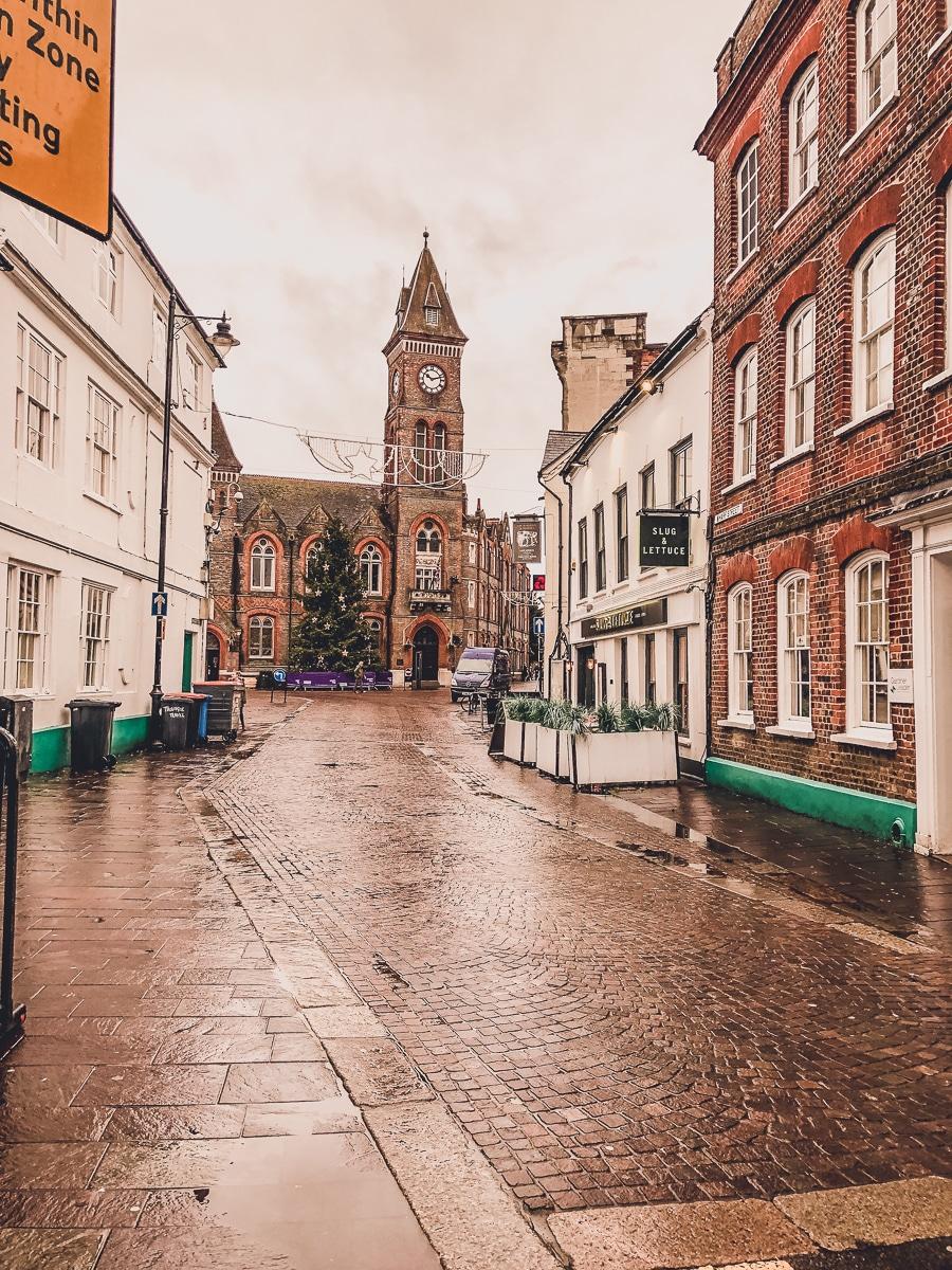 Downtown Newbury UK
