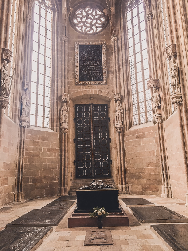Inside the Meissen Cathedral