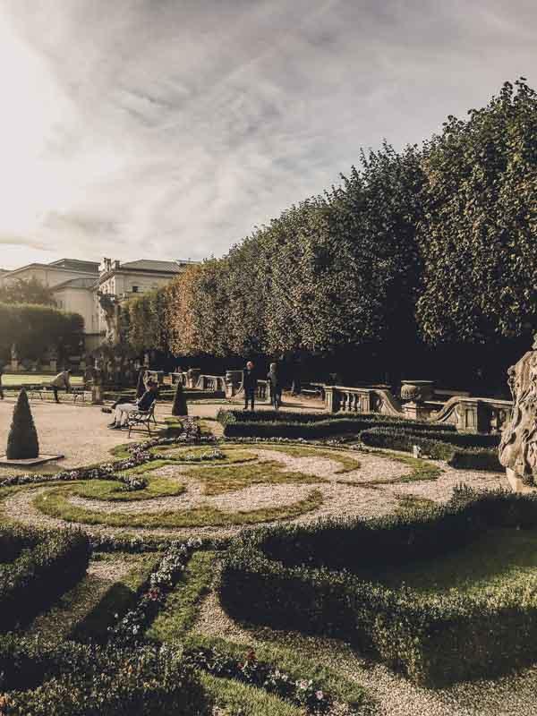 Gardens in Salzburg