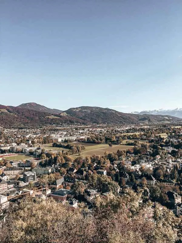 Views of Austrian Mountains