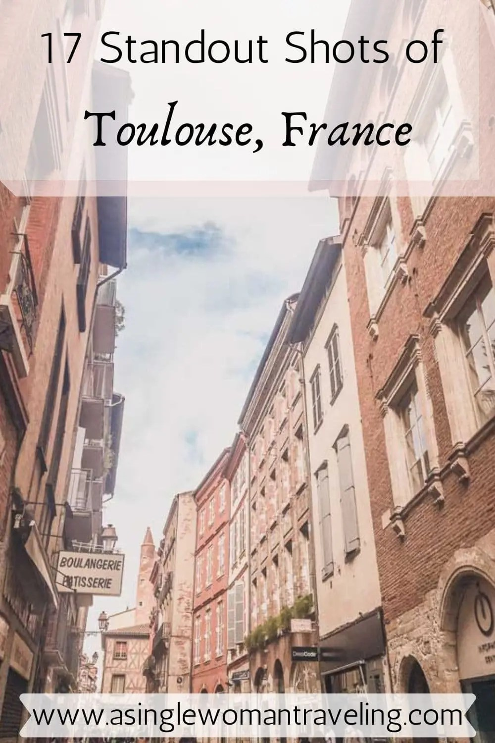 Pin for Toulouse, France