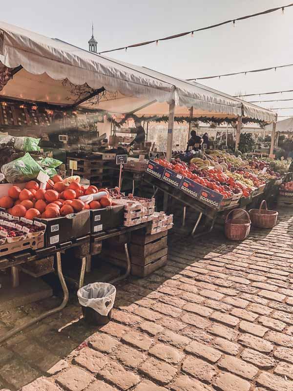 Fresh Food Market in Copenhagen