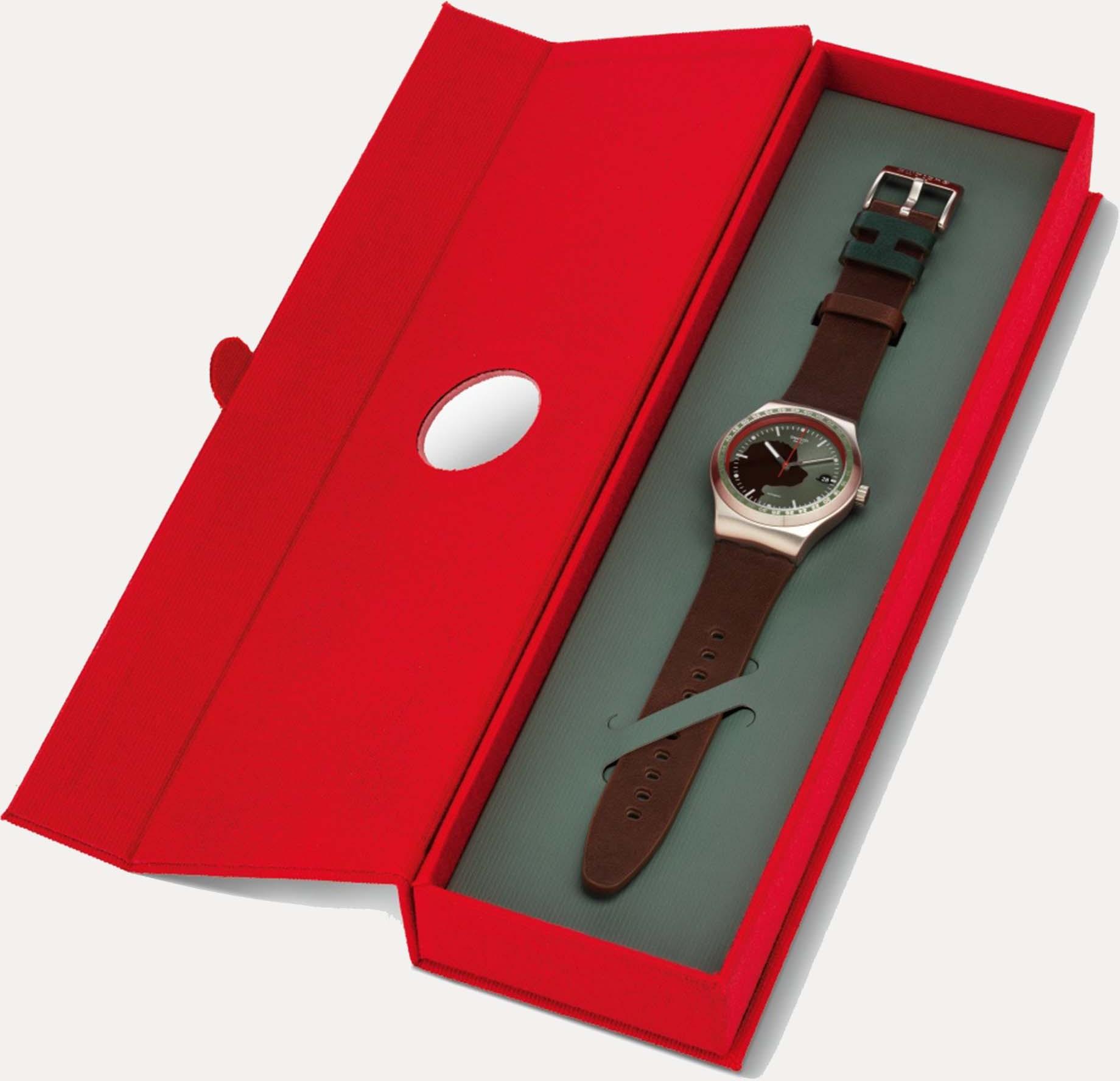 Swatch System51 X Hackett
