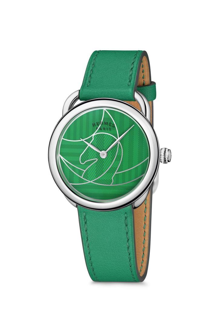 Hermes Arceau Casaque green 2