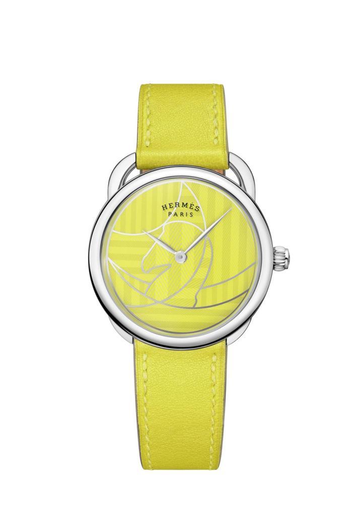 Hermes Arceau Casaque yellow