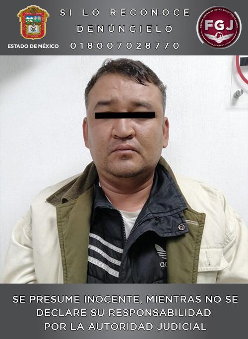 Aprehenden a sujeto acusado de violación de una menor en Zumpango - Noticiario Así Sucede