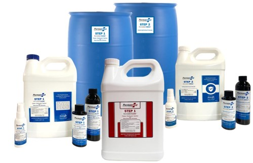 2-Step Disinfection and Antimicrobial Protection System