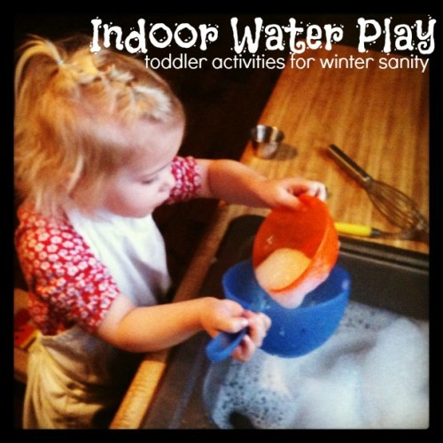 indoor water play toddler science activites for winter sanity