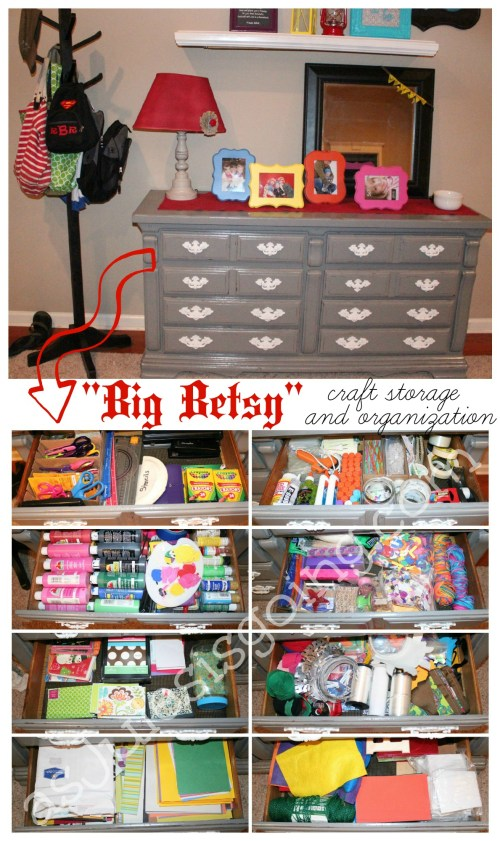Big Betsy Craft Storage & Organization