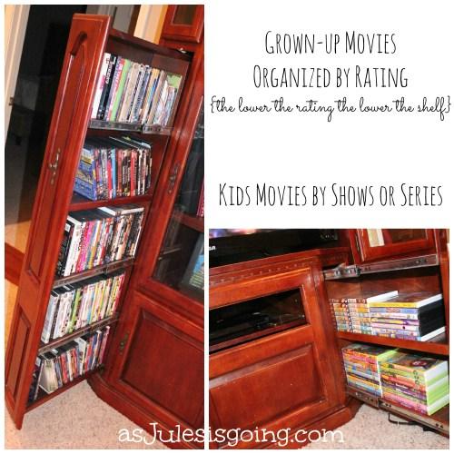 Organizing Movies