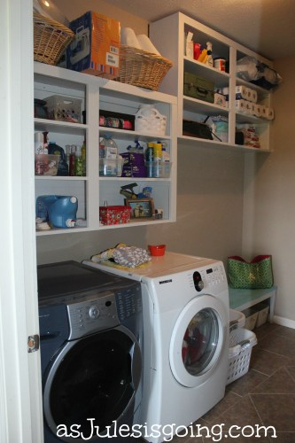 The Laundry moved shelving