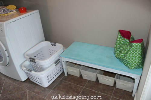 The Laundry temporary Mud Room