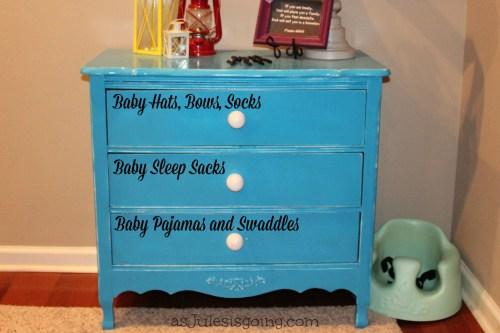 baby's dresser