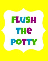 Flush The Potty