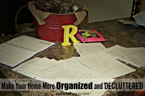 4 Steps to Make Your Home More Organized and Decluttered