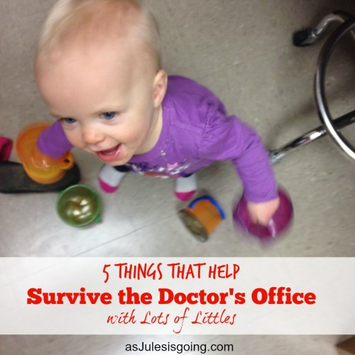 5 Things that Help  Survive the Doctor's Office  with Lots of Littles 1 snackage