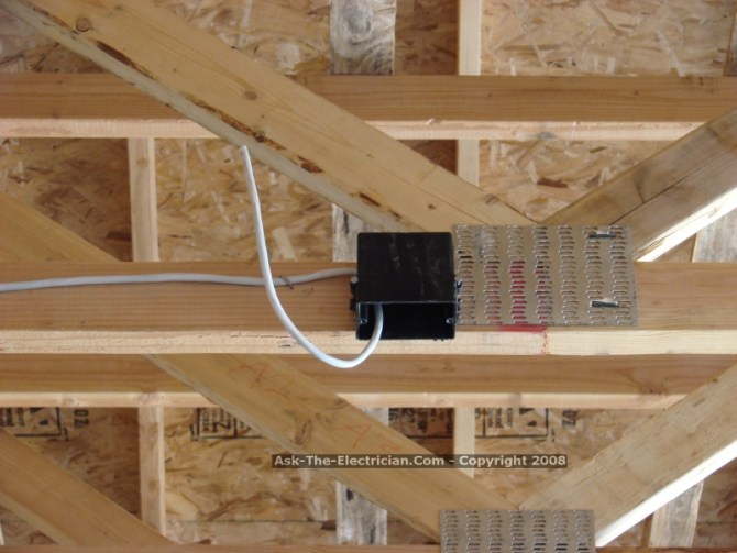 how to wire a single gfi outlet