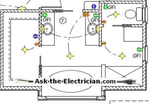 Bathroom Electrical Wiring