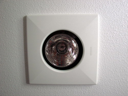 ... Bathroom Exhaust Fan. Ge Heat Lamp Trim