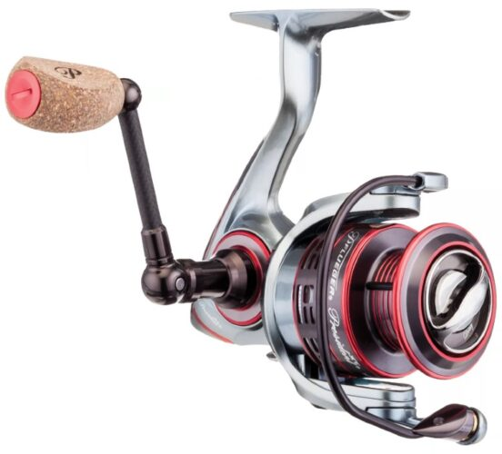 The Pflueger President is the best value in the choices of spinning reels for bass fishing