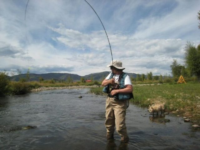 High sticking one of the common mistakes while fishing