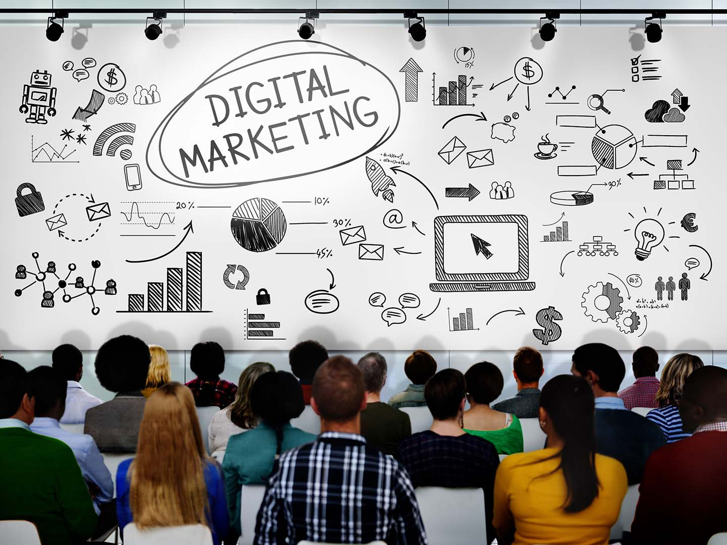 Marketing is no longer about making cold calls, spreading flyers and shaking hands while exchanging business cards. Online Digital Marketing Course with Placement in Mumbai