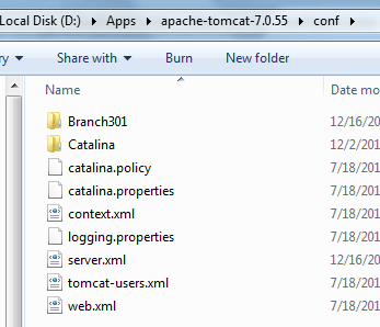 tomcat-context-folders